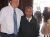 El finado don Lorenzo, Ixtapa, (104 años de edad), con Randy Polley